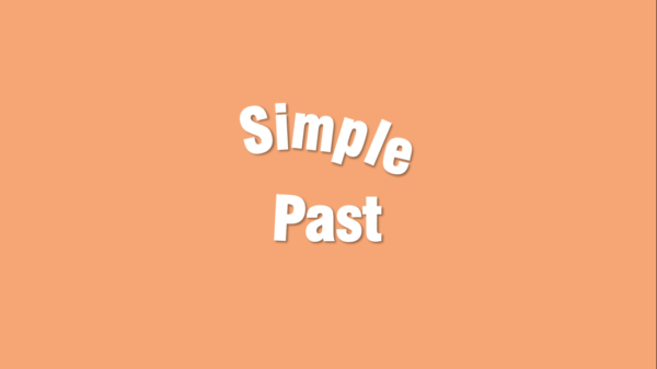 Juego simple past